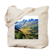 Majestic Pyrenees Mountains Tote Bag