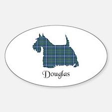 Terrier - Douglas Sticker (Oval)