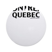 Montreal, QC Round Ornament