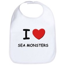 I love sea monsters Bib