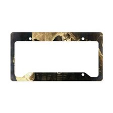 Hep Cats License Plate Holder
