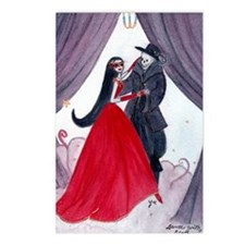 Dance With Death by Lee Postcards (Package of 8)