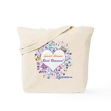 Smart Women Read Romance Tote Bag