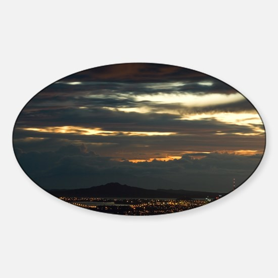 AKLD-sunrise-14-7-07-1591 Sticker (Oval)