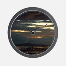 AKLD-sunrise-14-7-07-1591 Wall Clock