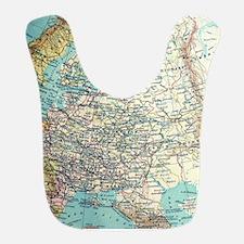 Russian Map Bib