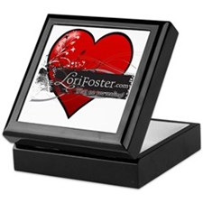 heart - What are you reading? Keepsake Box