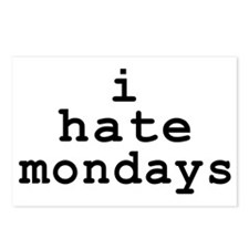 i hate mondays Postcards (Package of 8)