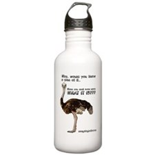 ostrich001 Water Bottle