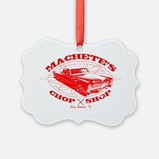 MacheteChopShop Ornament