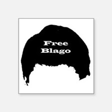 "blagojevich2 Square Sticker 3"" x 3"""
