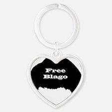 blagojevich2 Heart Keychain