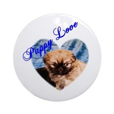 Puppy Love Ornament (Round)
