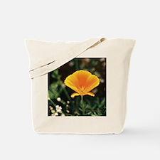 California Poppy Throw Pillow Tote Bag