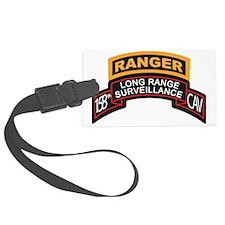LRS 158th CAV with Ranger Tab Luggage Tag