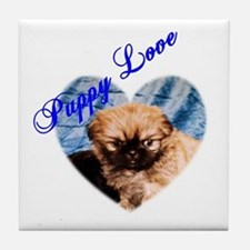 Puppy Love Tile Coaster