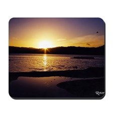 Lake-Rotorua-Sunrise-birds-182-10 Mousepad