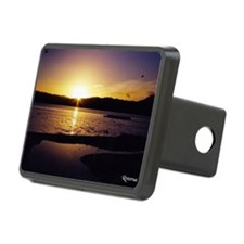 Lake-Rotorua-Sunrise-birds Hitch Cover