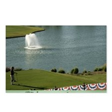 FirstTee-6x4_card Postcards (Package of 8)