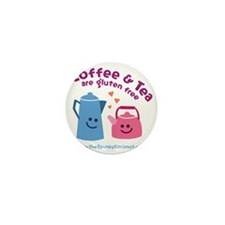CoffeeTeaMug Mini Button