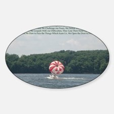 Conquer Fear Decal