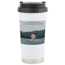 Conquer Fear Travel Coffee Mug