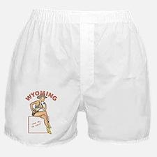 Wyoming Pinup Boxer Shorts