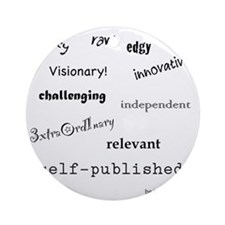 Self-Published Round Ornament