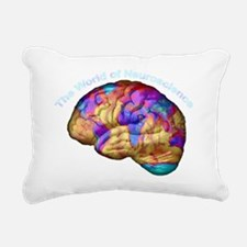 2-worldbr2 Rectangular Canvas Pillow