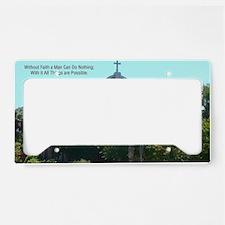 Faith Church License Plate Holder