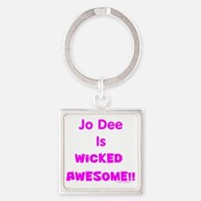 JDMAwesome Square Keychain