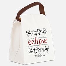 Eclipse -Twilight Saga Flourish Canvas Lunch Bag