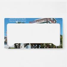Favorite Places License Plate Holder