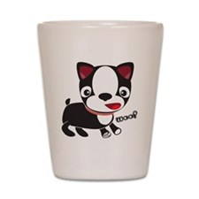 Choopie - Boston Terrier Puppy Shot Glass