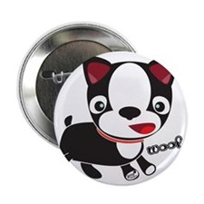 "Choopie - Boston Terrier Puppy 2.25"" Button"
