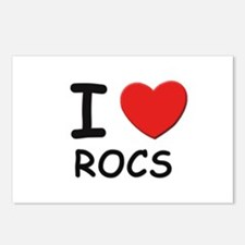 I love rocs Postcards (Package of 8)