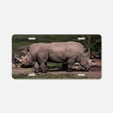 (6) Rhino Double Head Aluminum License Plate