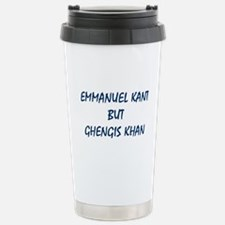 EMMANUEL KANT Travel Mug