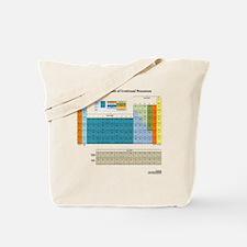 Periodic Table Of Nonsense Light T-Shirt  Tote Bag