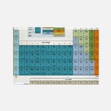 2-Periodic Table of Nonsense Post Rectangle Magnet