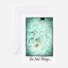 Do Not Weep Greeting Cards (Pk Of 20)