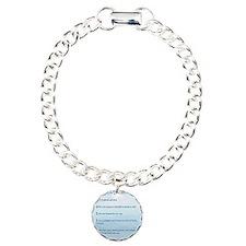 Love verse Charm Bracelet, One Charm
