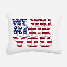 Flag-000006 Rectangular Canvas Pillow