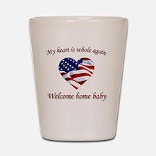 Welcome home Shot Glass