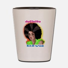 afro Shot Glass