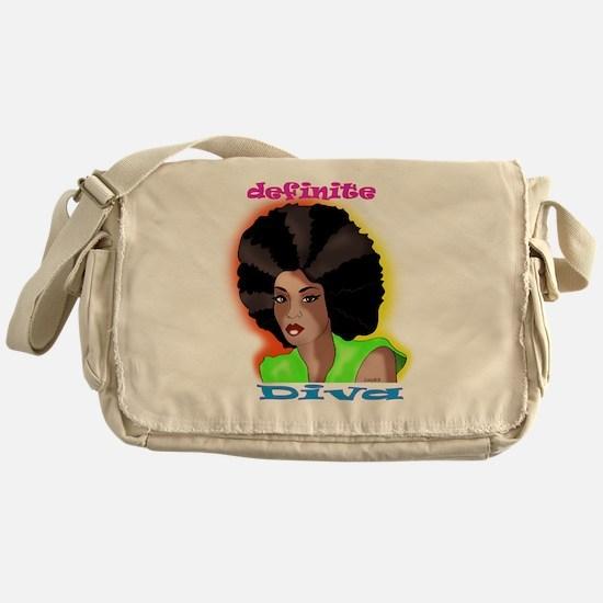 afro Messenger Bag