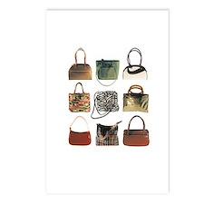 funky handbag postcards (Package of 8)
