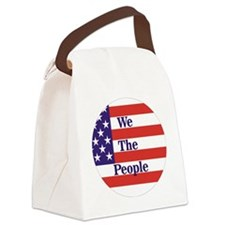 We the People Canvas Lunch Bag