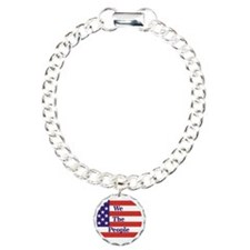 We the People Charm Bracelet, One Charm