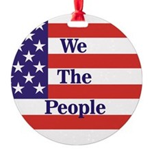 We the People Ornament